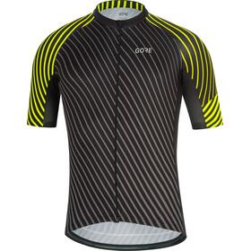 GORE WEAR C3 Fietsshirt korte mouwen Heren geel/zwart